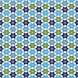 Teste padrão marroquino do estilo Foto de Stock
