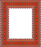 Teste padrão, motivos populares, tapete, toalha de mesa Foto de Stock