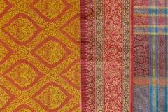 Teste padrão original da roupa no festival cultural anual de Lumpini Imagens de Stock