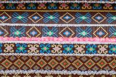 Teste padrão original no festival cultural anual de Lumpini Imagem de Stock