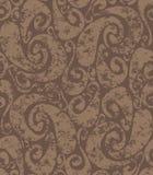 Teste padrão oxidado sem emenda dos redemoinhos Imagem de Stock