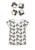 Teste padrão para a roupa das crianças Imagem de Stock Royalty Free