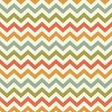 Teste padrão popular da viga do ziguezague do vintage Imagens de Stock