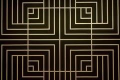 Teste padrão quadrado Imagem de Stock Royalty Free