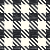 Teste padrão quadriculado sem emenda de matéria têxtil Fotos de Stock Royalty Free