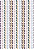 Teste padrão retro da folha Fotografia de Stock