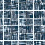 Teste padrão sem emenda alinhado de matéria têxtil Fotos de Stock