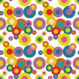 Teste padrão sem emenda Art Background psicadélico abstrato Vetor IL Imagem de Stock Royalty Free