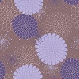 Teste padrão sem emenda com flores Imagem de Stock Royalty Free