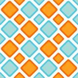Teste padrão sem emenda do backgound dos diamantes do ziguezague Foto de Stock