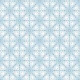 Teste padrão sem emenda do fundo dos flocos da neve do inverno Foto de Stock