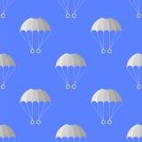 Teste padrão sem emenda do paraquedas Esporte extremo Imagem de Stock