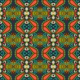 Teste padrão sem emenda do vintage da geometria, estilo étnico Imagem de Stock Royalty Free