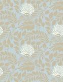 Teste padrão sem emenda do vintage floral claro Foto de Stock
