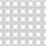 Teste padrão sem emenda elegante monocromático Foto de Stock