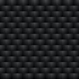 Teste padrão sem emenda escuro fundo da ilusão 3d ótica Imagens de Stock Royalty Free