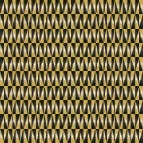 Teste padrão sem emenda geométrico do vetor Fotografia de Stock Royalty Free
