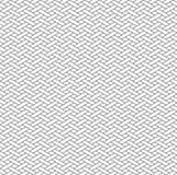 Teste padrão sem emenda geométrico preto e branco com estilo do weave Fotos de Stock Royalty Free