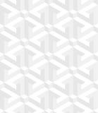 Teste padrão sem emenda isométrico fundo da ilusão 3d ótica Fotos de Stock Royalty Free