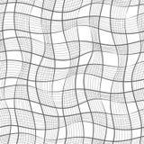 Teste padrão sem emenda Textura de listras diagonais onduladas pasteis Fundo abstrato à moda Fotografia de Stock