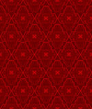 Teste padrão sem emenda vermelho Imagem de Stock Royalty Free
