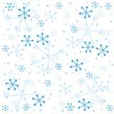 Teste padrão semless do inverno Foto de Stock