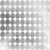 Teste padrão tirado mão da aquarela com ovos da páscoa Fotos de Stock Royalty Free