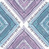 Teste padrão tribal abstrato Fotografia de Stock Royalty Free