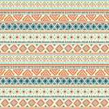 Teste padrão tribal abstrato Fotos de Stock Royalty Free