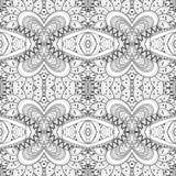 Teste padrão tribal abstrato sem emenda (vetor) Fotos de Stock Royalty Free
