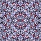 Teste padrão tribal abstrato sem emenda (vetor) Imagens de Stock