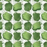 Teste padrão verde da pimenta de Bell Foto de Stock Royalty Free