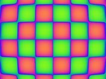 Teste padrão vibrante quatro da arte de PNF Foto de Stock