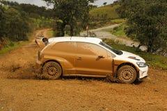 Teste Volkswagen Imagem de Stock Royalty Free