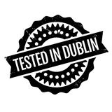 Tested In Dublin rubber stamp Royalty Free Stock Photos