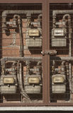 Tester del gas naturale Immagini Stock Libere da Diritti