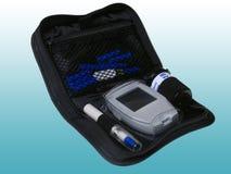 Tester del glucosio fotografia stock libera da diritti