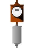 Tester di corrente elettrica Fotografie Stock
