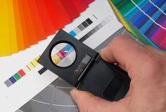 Tester di tela Fotografia Stock