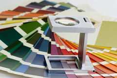 Tester di tela Immagini Stock