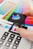 Tester di tela fotografia stock libera da diritti