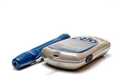 Tester diabetico fotografia stock