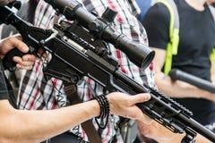 testes de armas modernas e de armamentos fotos de stock royalty free