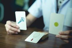 Testes Neuropsychological para a demência Imagens de Stock