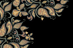 Testes padrões étnicos ilustração royalty free