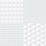 Testes padrões 3D subtis ilustração do vetor