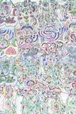 Testes padrões abstratos Fotografia de Stock Royalty Free