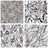 testes padrões abstratos sem emenda Fotografia de Stock Royalty Free