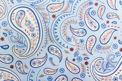 Testes padrões azuis Foto de Stock