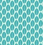 Testes padrões azuis da folha Imagem de Stock Royalty Free